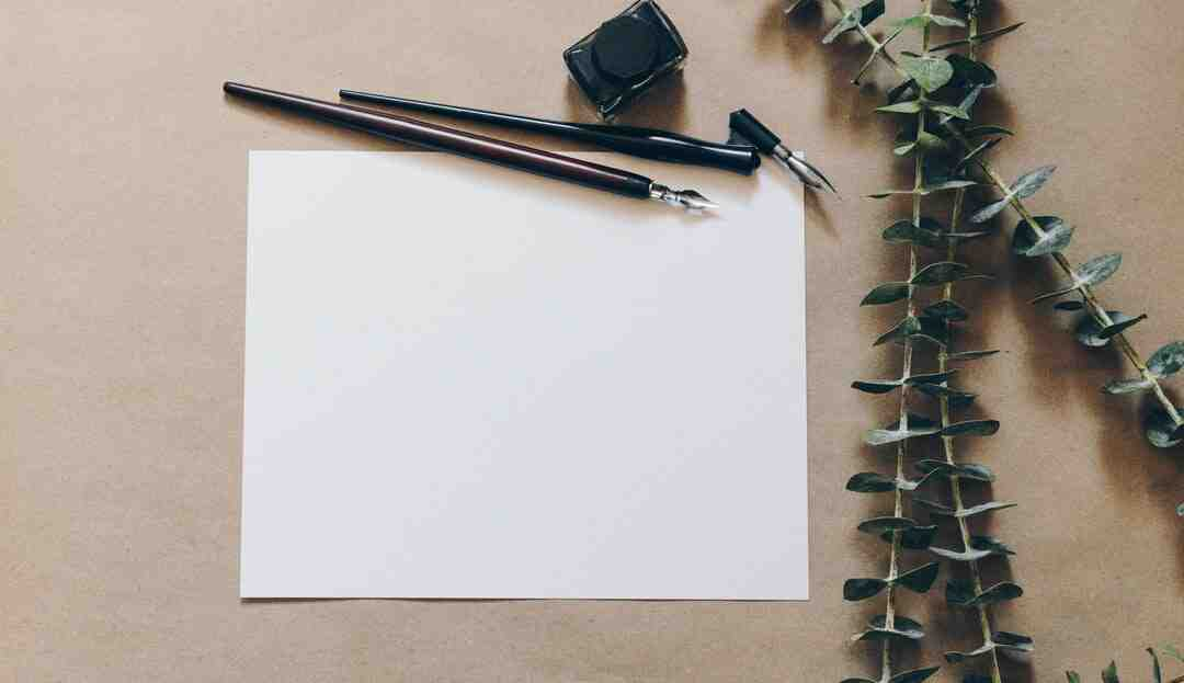 How to Write With a Feather Quill