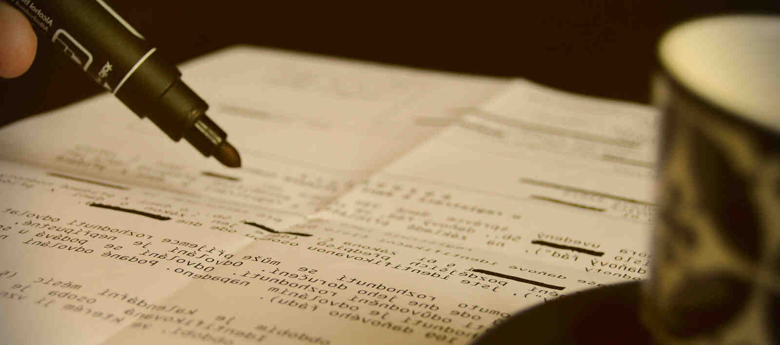 How to Redact a Document