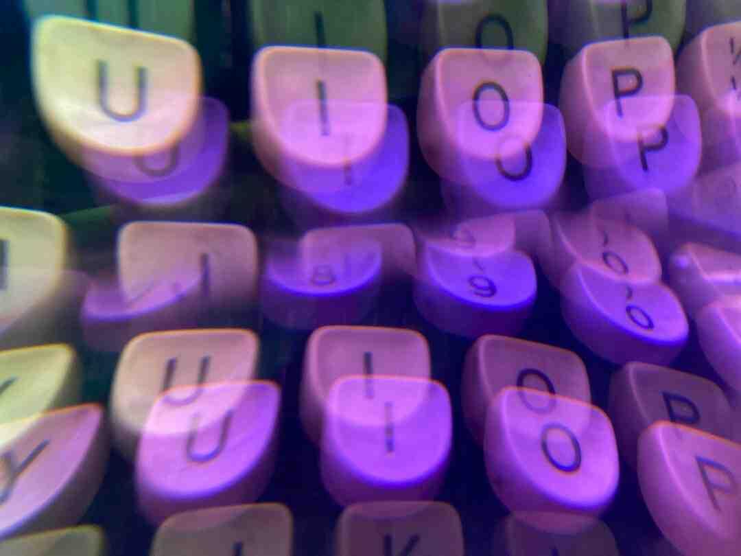 How type symbols on keyboard