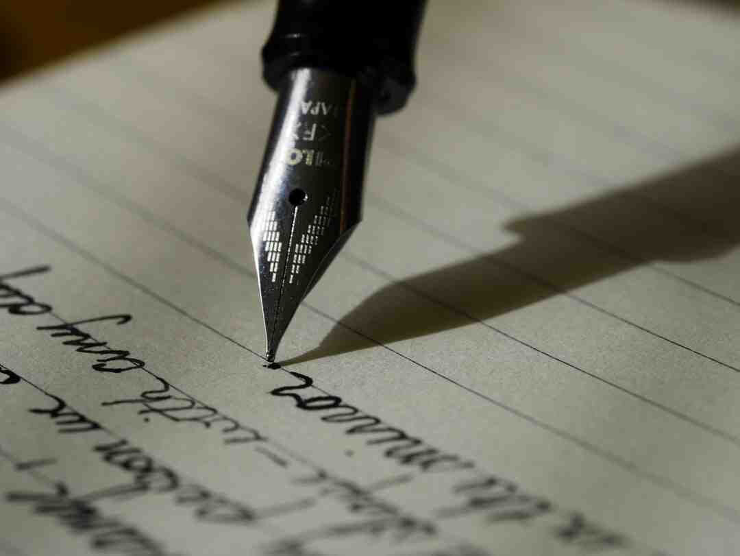 What are the 5 types of writing?